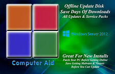Windows Server 2012 32 & 64 Bit Patch Disk - Incs All SPs & All Updates DVD