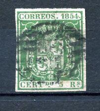 1854.ESPAÑA.EDIFIL 26 (oder) .usado.firmado CAJAL.CAT.150€