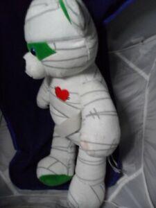 """Build a Bear Mummy Teddy Plush Halloween Stuffed Toy Retired 18"""""""