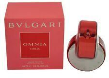 BVLGARI OMNIA CORAL 2.2 OZ EDT SPRAY FOR WOMEN BY BVLGARI NEW IN A BOX