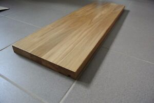 european oak stair treads, 40mm thick, oiled - top quality
