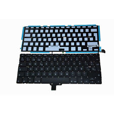 "Macbook Pro 13"" A1278 2009-2012 Spanish ESPAÑOL Keyboard Teclado with Backlight"
