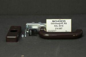 Schüco M&A Handhebel BRAUN Getriebehandhebel 214557
