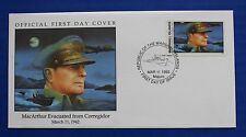 Marshall Islands (303) 1992 WWII: MacArthur Evacuated from Corregidor FDC