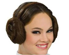 STAR WARS Official Licensed Princess LEIA Hair BUNS Headband Costume PROP