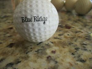 """Antique Golf Ball """"BLUE RIDGE"""" Dimple early 1900s"""