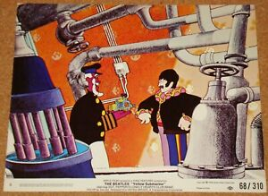 BEATLES: YELLOW SUBMARINE (1968) - VERY RARE original US 8x10 lobby card #6