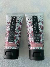 Set of 2 Beekman 1802 Goat Milk Soap Honeyed Grapefruit Hand Cream Honey 2 oz ea
