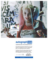 MARGOT ROBBIE AUTOGRAPH SIGNED 8X10 PHOTO SUICIDE SQUAD HARLEY QUINN ACOA