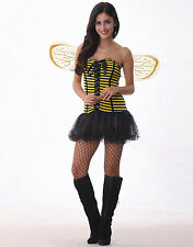 Bumble Bee Womens Costume, Dress Up - size Small (AU 6-8)