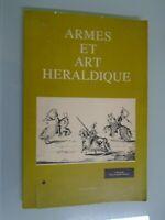 ARMES ET ART HERALDIQUE-AVEC 51 PLANCHES TIREES DE ENCYCLOPEDIE DE DIDEROT-1979