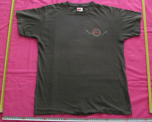 T-Shirt noir Original Reebok The Pump Pumped on hoops Vintage Taille M 90s 1990s