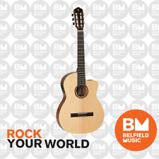 Tanglewood TWCE4 Winterleaf Classical Guitar Nylon String Natural Pickup Cutaway