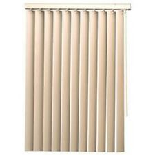 Designer'S Touch 560308 Vinyl Vertical Blinds With Valance- White- 104X84 In.