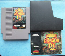 DOUBLE DRAGON III w/MANUAL NINTENDO NES 1991 TESTED ACTUAL PICTURES ACCEPTABLE