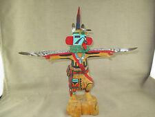 "Native American Hopi Eagle Dancer Kachina (Katsina) Doll 14.25"" Tall By J Clah"