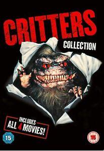 CRITTERS 1 2 3 4 (Region 4) DVD The 4 Film Collection 1-4 Original Quadrilogy