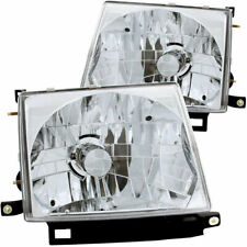 Anzo USA Crystal Headlights Chrome for Toyota Tacoma 1997-2000