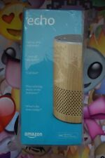 **BRAND NEW** Amazon Echo (2nd Gen) Smart Assistant - Oak Finish LIMITED EDITION