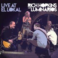 RICH & LUMINARIOS HOPKINS - LIVE AT EL LOKAL   CD NEU