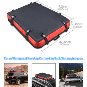 Car Off-road Roof Cargo Bag Travel Storage  Luggage Bag Waterproof For Jeep BMW