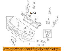 MITSUBISHI OEM 00-04 Montero Sport Front Bumper-Reinforcement Grommet MS480001
