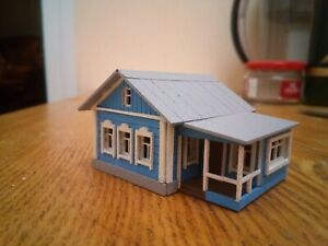 KIT to build a wooden Russian house 1/160 N