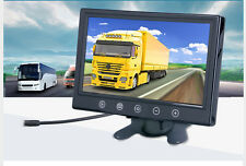 """9"""" TFT LCD Car Rear View Monitor DVD VCD GPS Headrest Monitor Remote Control US"""