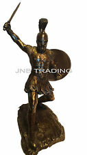 Hector Unleashed With Sword & Shield Statue Sculpture Figurine Troy FAST SHIPPIN