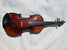 Nuevo violín, Stradivarius copia hecha a mano, estilo Antiguo, arco y caso desde el Reino Unido!