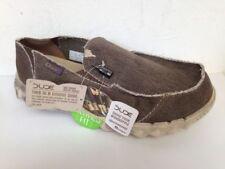 Zapatos informales de hombre mocasines color principal marrón de lona