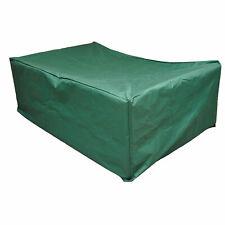 Outsunny UV Protective Garden Furniture Rain Cover 210 X 140 X 80cm - Green