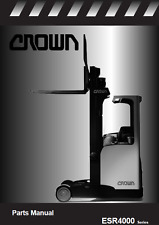 Crown Lift Truck ESR4000 Series Parts Manual (B406)