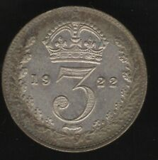 More details for 1922 george v silver threepence coin | british coins | pennies2pounds