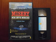 Misery non deve morire (James Caan, Kathy Bates) - VHS ed. Penta Video
