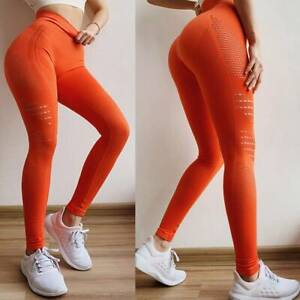 Women Seamless High Waist Gym Leggings Push UpFitness Sport Running Yoga Pants
