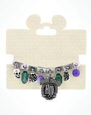 Disney Parks Haunted Mansion Stretch Charm Bracelet Jewelry Multi Color