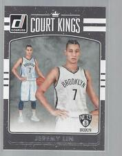 2016-17 DONRUSS COURT KINGS #27  JEREMY LIN  NETS  50 CENT SHIP
