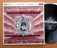 SXL 2251 ED1 Teresa Berganza Arias Of The 18th Century Decca ED1 Wideband EX/VG