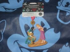 Disney Sketchbook Ornament Flynn Rider and Rapunzel 2020 New
