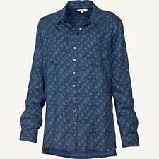 Fat Face Womens Utility Diamond Dash Shirt Top (uk 14)