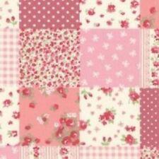 Pink patchwork - rose and hubble fabric 1 metre