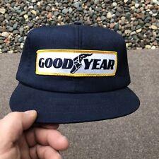 Vintage 70's 80's Goodyear Swingster Cap Hat Trucker SnapBack USA Good Foam