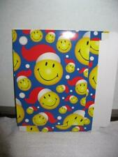 Lot of 100 DVD & Video Game Gift Boxes PS4 Xbox One PS3 Wii U Smiley Face Santa