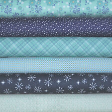 Calico Days 6 Fabric Fat Quarters by Mixed Designers for Riley Blake, 1.5 yar