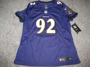 Haloti Ngata Baltimore Ravens Purple Womens Large Nike Limited Jersey