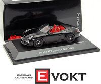1:43 Schuco Porsche 911 (991) Carrera 4 GTS Convertible 2014 black