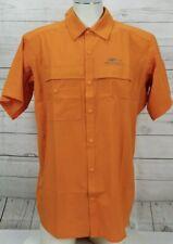 GRUNDENS HOOKSETTER Men's Size Small Lightweight Vented Sport Fishing Shirt NWT