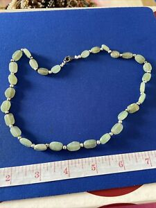 VINTAGE  JEWELLERY AGATE  NECKLACE (1)