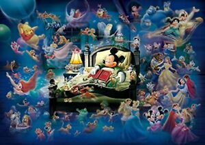 Tenyo 108 Piece Jigsaw Puzzle Disney Mickey's Dream Fantasy Shining Jigsaw F/S